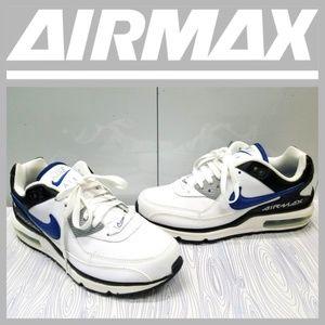 NIKE AIR MAX WRIGHT LTD WHITEBLUEBLACK
